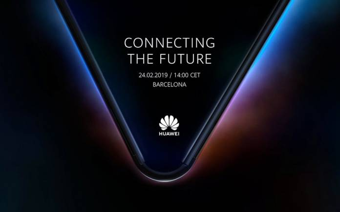 Huawei foldable phone teaser
