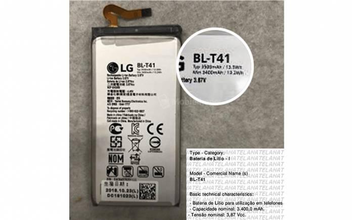 LG G8 ThinQ Battery