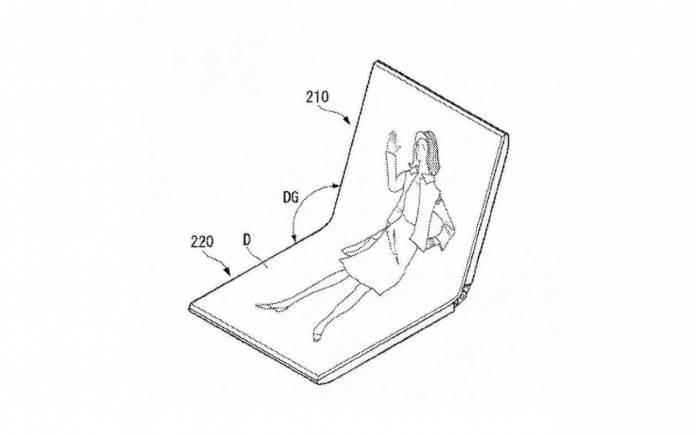 LG foldable phone concept