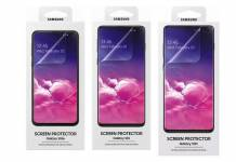 Official Samsung Galaxy S10 screen protectors 2