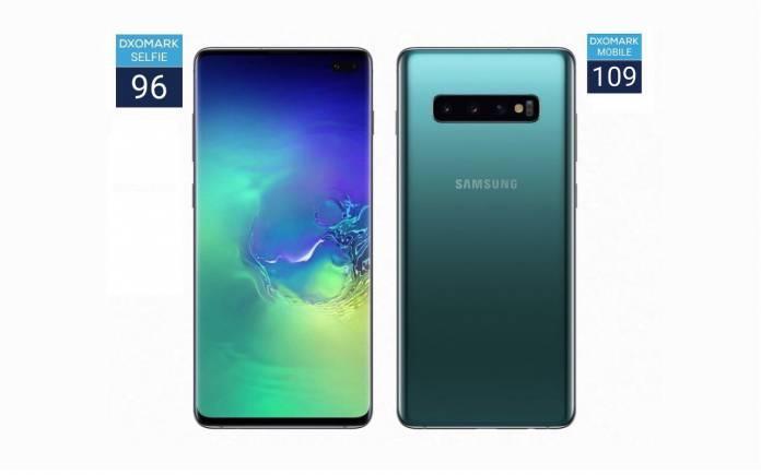 Samsung Galaxy S10+ Dxomark Selfie Camera Review
