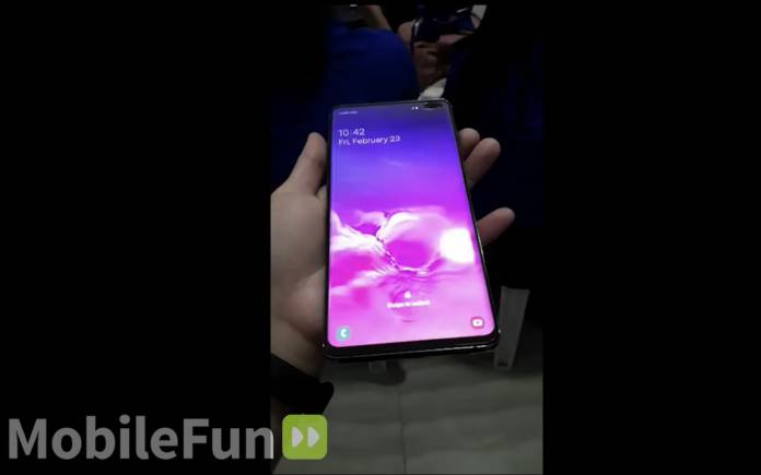 Samsung Galaxy S10 Plus Hands-on