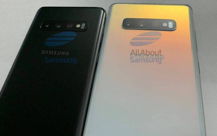 Samsung Galaxy S10 S10+ live images