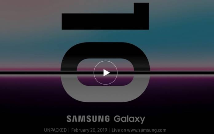 Samsung Galaxy UNPACKED 2019 February 20 2019