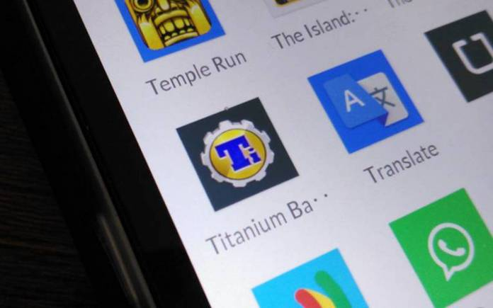 Titanium Backup removed from the Play Store because of