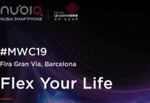 ZTE Nubia Flexible Smartphone MWC 2019