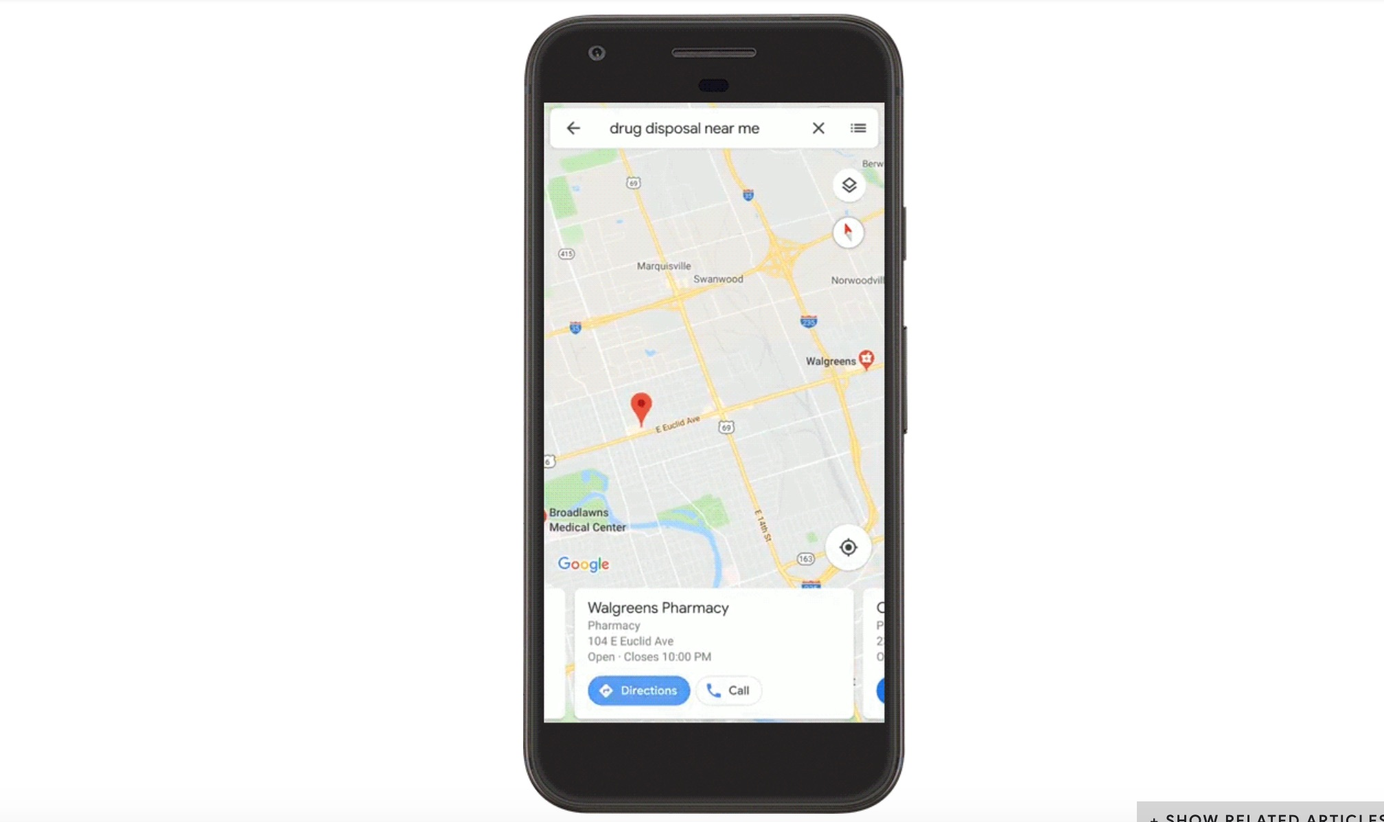 Google Maps Search Helps People Find Safe Ways To Dispose Of