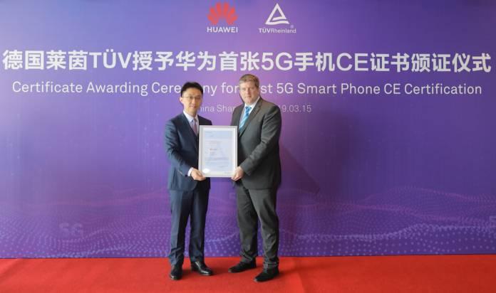 HUAWEI Mate X 5G Certification