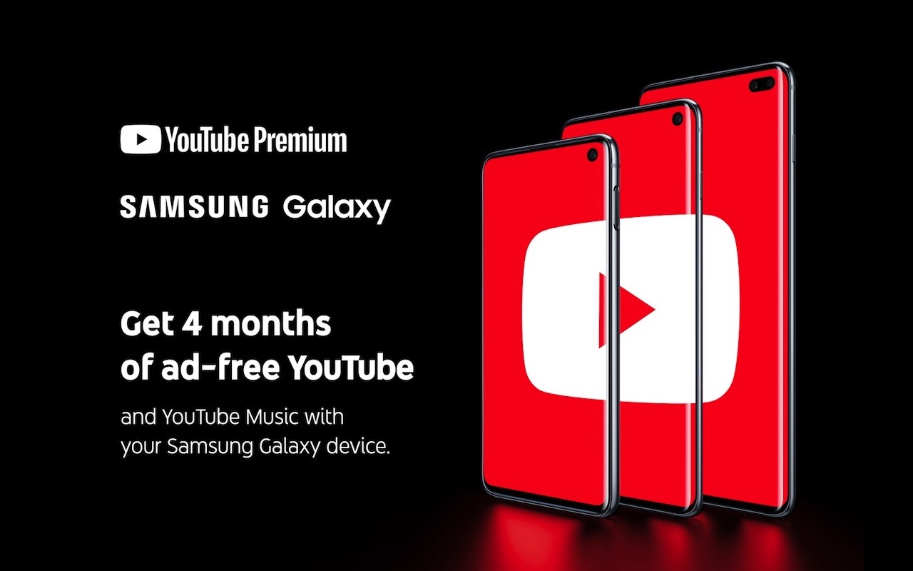 Samsung Galaxy S10 now comes with premium YouTube Music