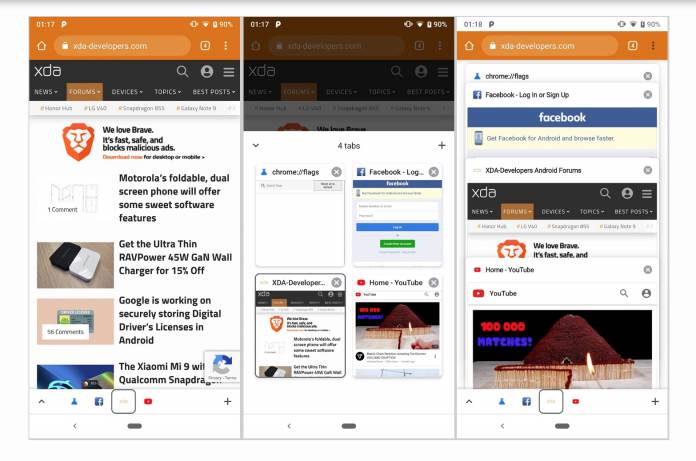 Google testing out a new Chrome bottom toolbar - Android Community