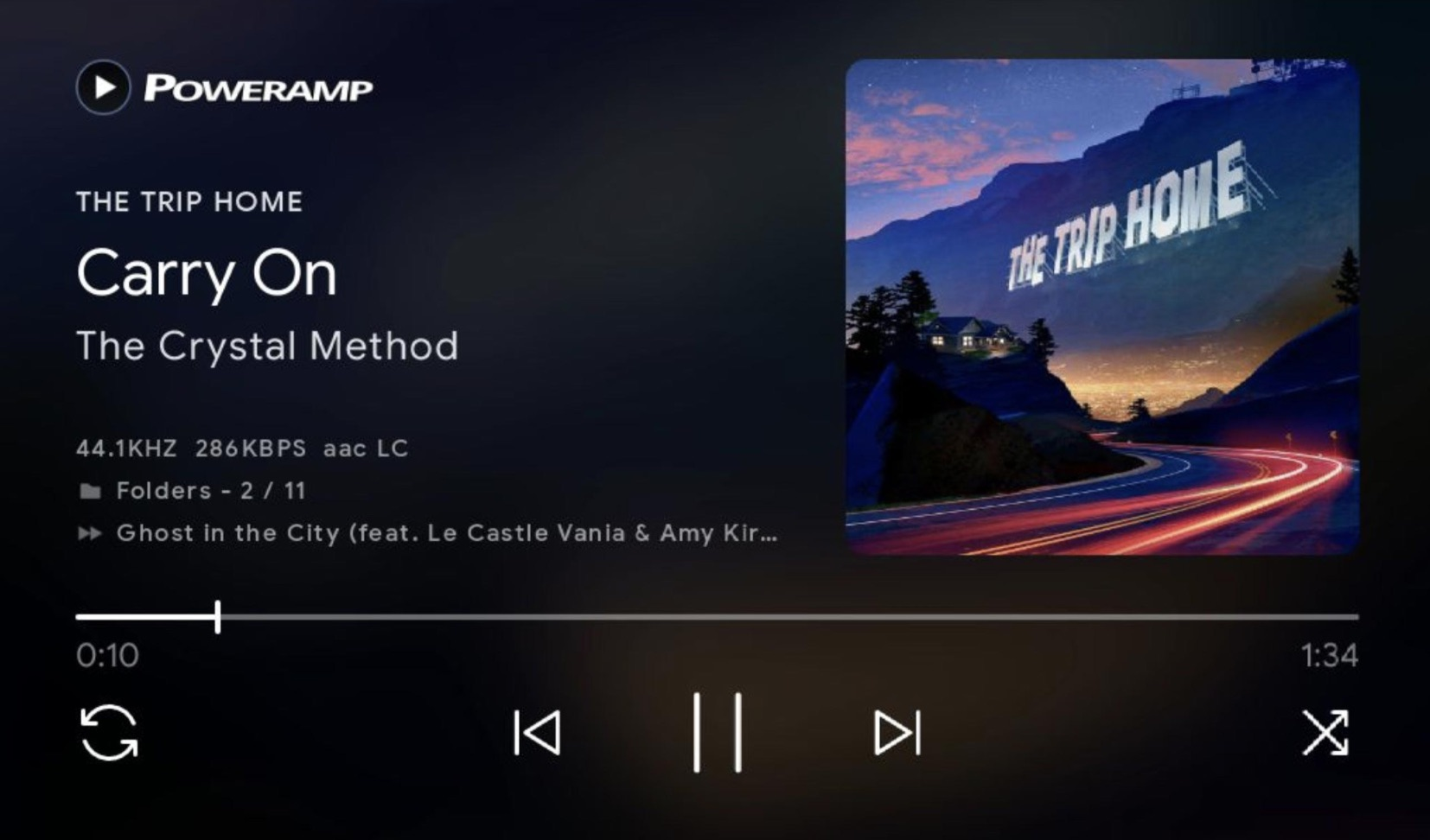 Poweramp now has Chromecast, Google Assistant support