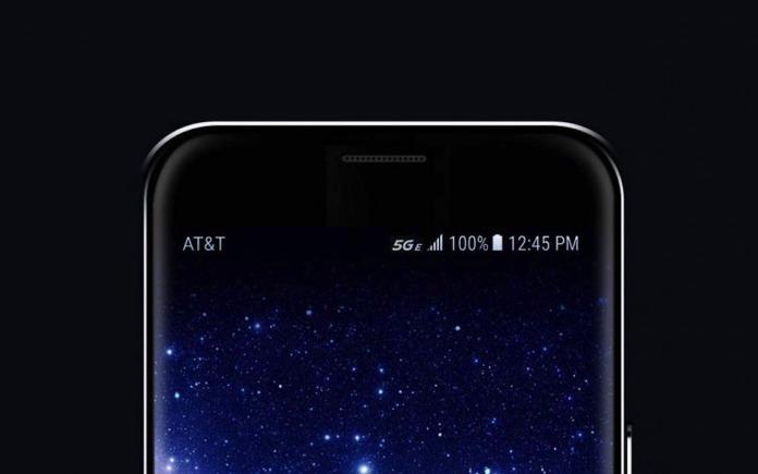 ATT 5G E icons