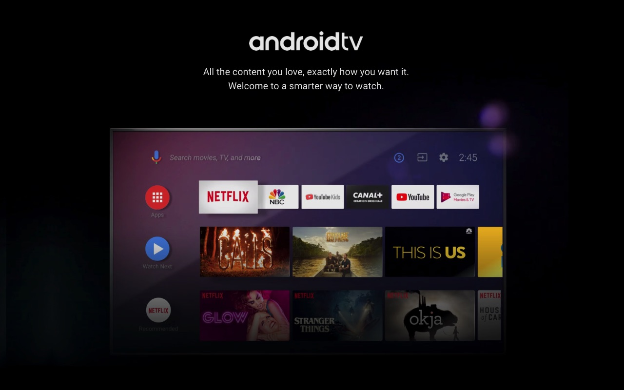 Android TV launcher showing ads, just a pilot program says Google
