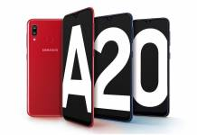 Samsung Galaxy A20 India
