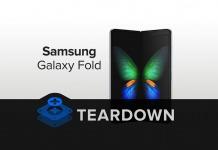 Samsung Galaxy Fold Teardown by Ifixit