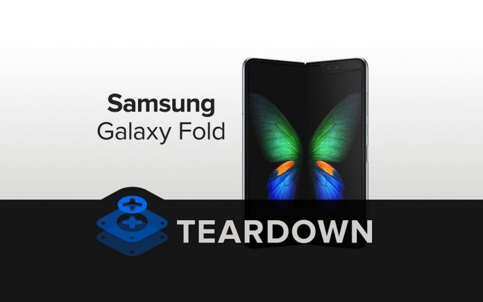 Samsung Galaxy Fold Teardown by Ifixit