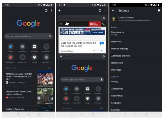 Google Calendar and Google Fi apps are Getting Ready for Dark Mode