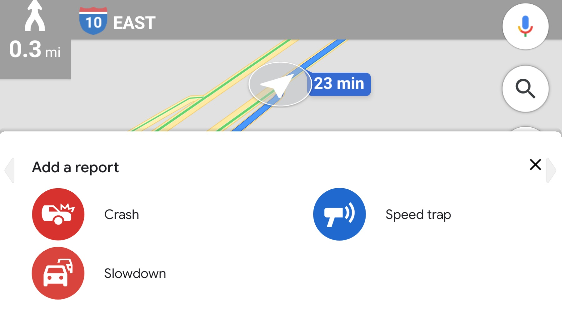 Google Maps now lets you report live traffic slowdowns ... on google earth live, google satellite live, google world map, google us map, earth maps live, view satellite local live, google atlas map, google gps live, bing maps live, google map from to, msn maps live, google earth street view, google moon live, google manhattan map, google weather map, world maps live, google sky live, google united states map, google search, google live street view,
