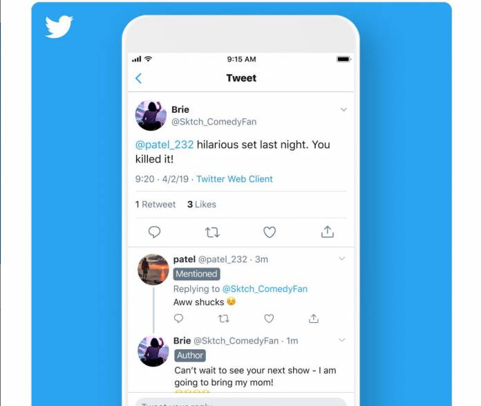 Twitter Testing Out Labels On Tweets For Longer