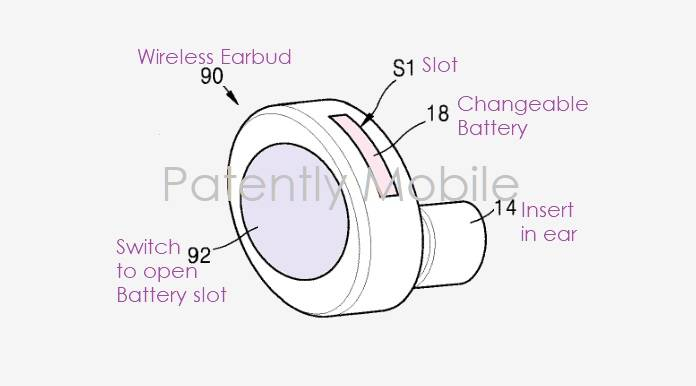 samsung files patent for galaxy buds with changeable batteries - android  community  android community