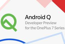 Android Q Developer Preview for OnePlus 7