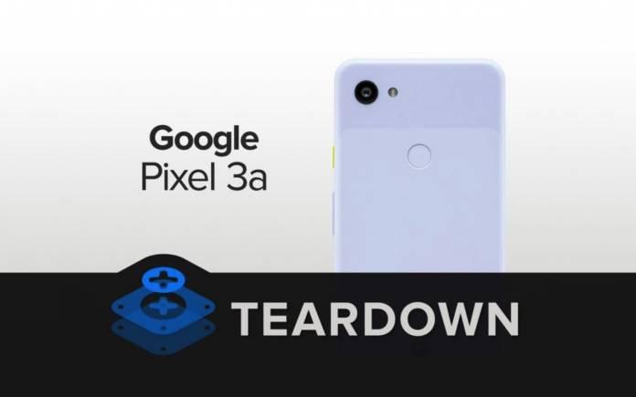 Google Pixel 3a Teardown
