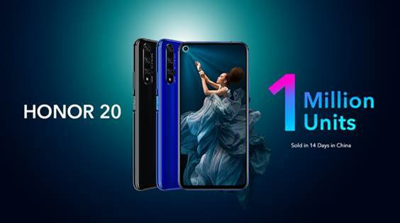 HONOR 20 Sales