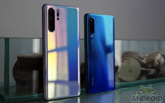 Huawei Android Q Phones