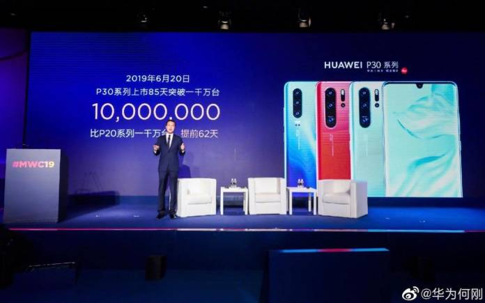 Huawei P30 Sales