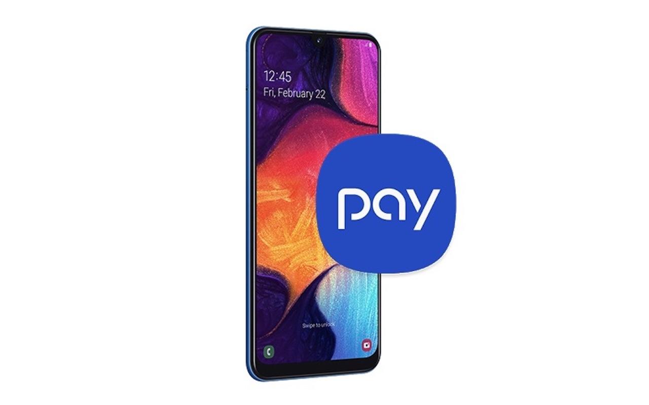 Samsung Galaxy A50 Galaxy Pay