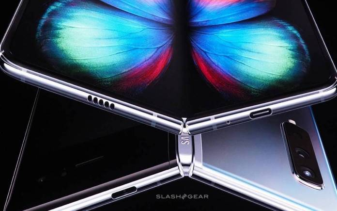 Samsung Galaxy Fold hinge improvement