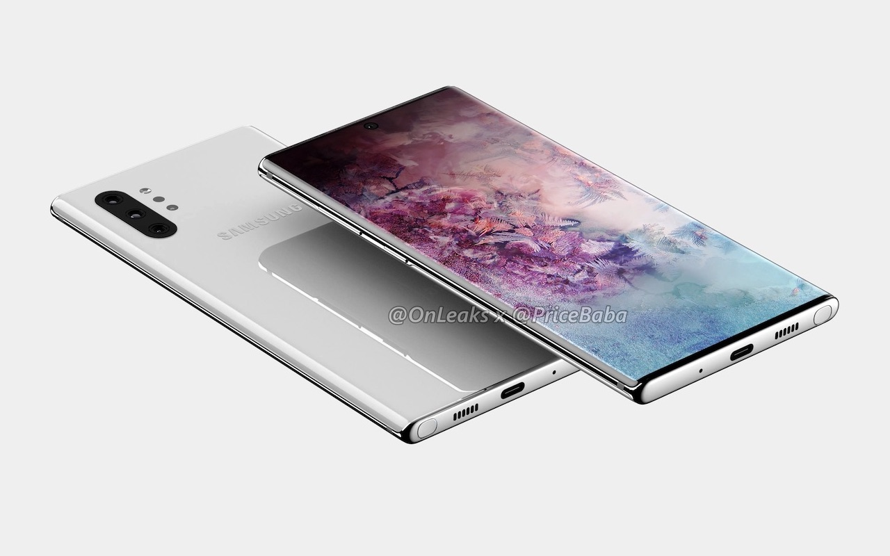 Samsung Galaxy Note 10 Pro renders show quad camera setup - Android