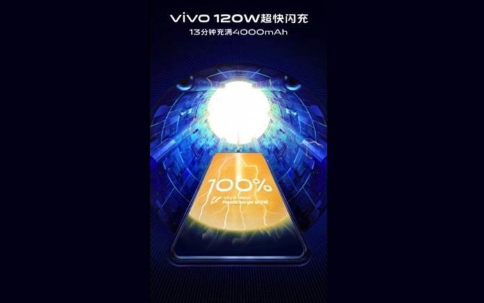 VIVO 120 battery fast charging