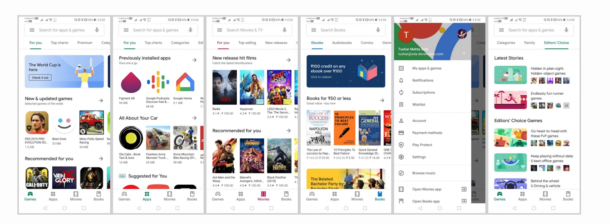 Google Play Store rolls out update with white background