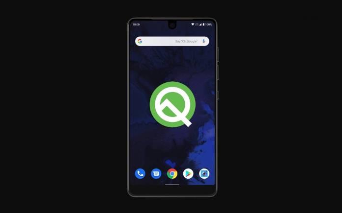 Essential Phone Android Q Beta Program