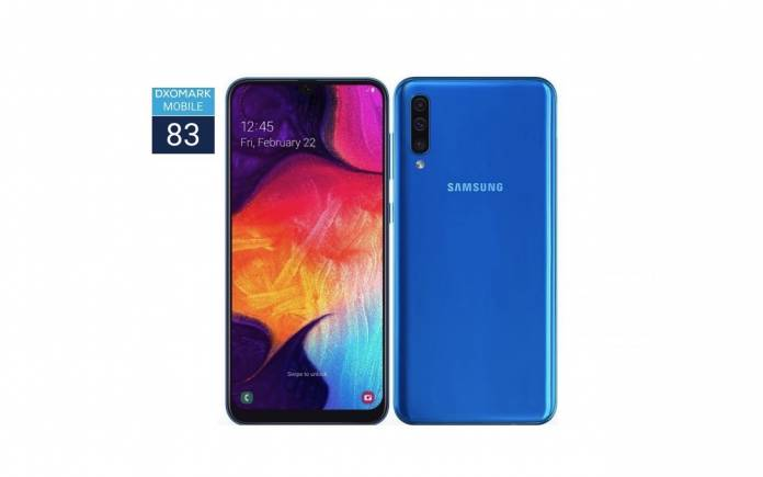 Samsung Galaxy A50 DxOMark