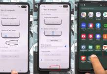 Android 10 Samsung Galaxy S10+