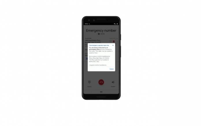 Google Emergency Number