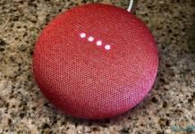 Google Home Mini Nest Mini Concept