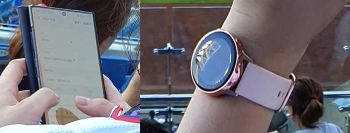Samsung Galaxy Note 10 Galaxy Watch Active 2