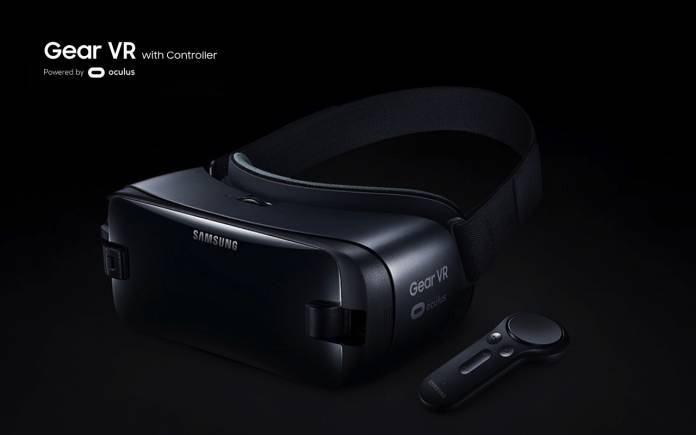 Samsung Gear VR with controller Galaxy Note 10
