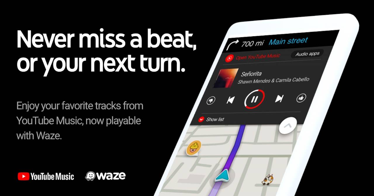 Youtube Music Now Available On The Waze App Android Community