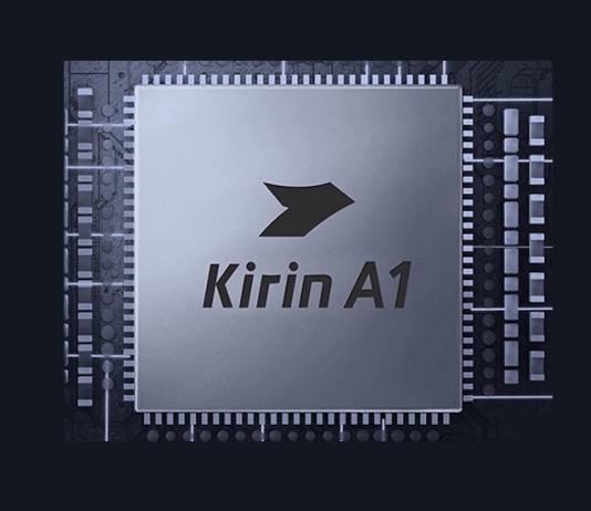 Huawei HiSilicon Kirin A1 Chip Mobile Process
