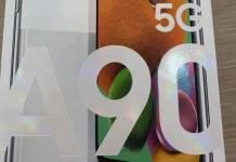 Samsung Galaxy A90 5G phone
