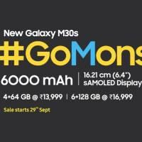 Samsung Galaxy M30s Price