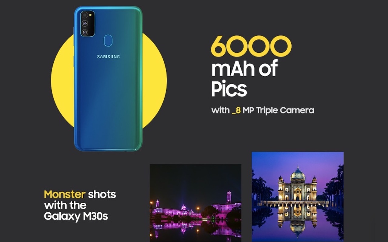 Samsung Galaxy M30s teased on Amazon India before market