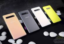 Samsung Galaxy S11 Color Options