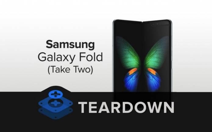 Samsung Galaxy Fold Teardown Version 2