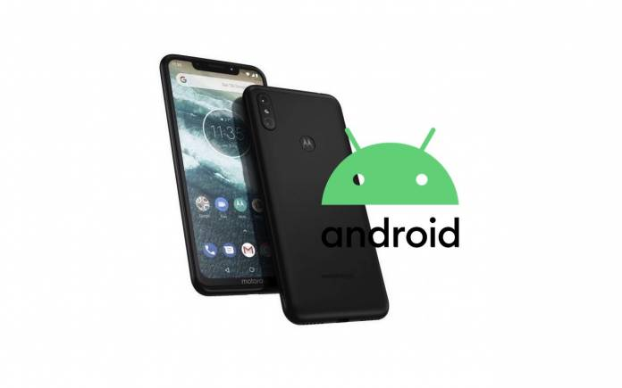 Motorola One Power Android 10 Update