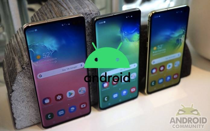 Samsung Galaxy Note 9 Galaxy S9 Android 10 Update